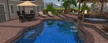 Beautiful Backyard Pools Model Impressive Design
