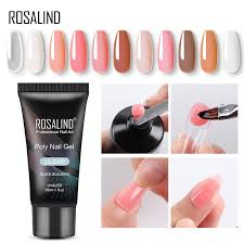 <b>ROSALIND Builder Crystal</b> Gel 30ml Poly Nail Gel Finger Extension ...
