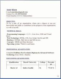 Ideal Resume Format Awesome Iti Fitter Resume Format Doc Resume Design