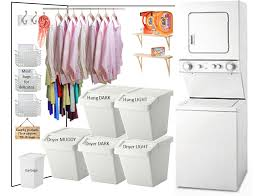 laundry closet there will be five hampers for the whole family to share the muddy bin is for zach s work clothes and the kids rugby uniforms