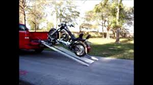 Fast Master Motorcycle Truck Bed Pickup Loader - YouTube