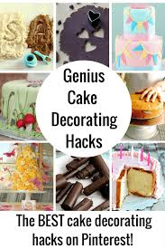 Pro Cake Decorating Hacks And Easy Cake Decorating Ideas