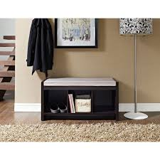 Shoe Rug Entryway Bench With Shoe Storage Baskets And Attractive Entryway