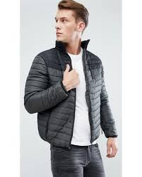 Great Deals on Brave Soul Zip Through Quilted Jacket - Green & Brave Soul Zip Through Quilted Jacket - Green Adamdwight.com