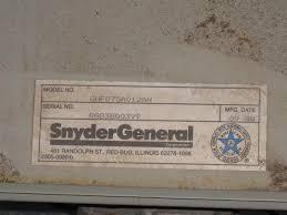 comfortmaker snyder general gas furnace no heat heating label jpg