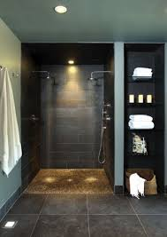 B I Desperately Want A Wet Room In Our Master Bath No Glass To Clean  Bathroom Ideas Bathroom Interior Design