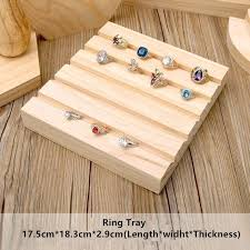 Wooden Jewellery Display Stands Fascinating Jewelry Holders Earrings Ring Necklace Bracelets Stands