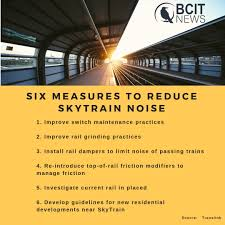 Translink Org Chart Translink Explores Skytrain Noise Reduction Bcit News