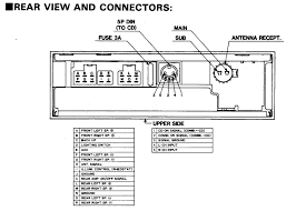 mitsubishi car stereo wiring diagram inside wiring diagram for a chevy radio wiring diagram at Car Stereo Connector Diagram