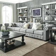 extra long sectional grey extra long tufted chesterfield modular sofa by inspire q artisan reclining sectional extra long sectional long sectional couch