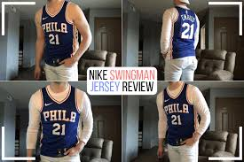 Nba Nike Swingman Jersey Review How Mine Fits W Pictures