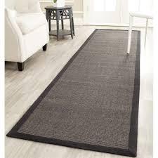 safavieh natural fiber charcoal area rug runner 2 6