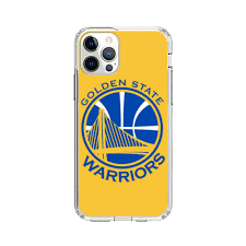 Golden State Warriors Yellow iPhone 12 Pro Max Clear Case