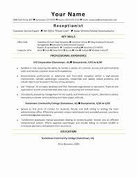 Sample Of Good Resume Lovely Ma Resume Samples Aurelianmg