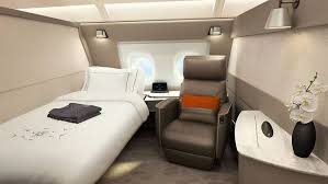 Singapore Airlinesu0027 New First Class Suites Are Literally Comfy Bedrooms In  The Air