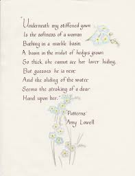 Patterns By Amy Lowell Adorable Patterns By Amy Lowell The Burning Tyger