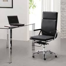 modern office chair leather. Astounding Black Office Herman Miller Chairs Costco With Glass Table And White Curtain Modern Chair Leather