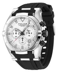 police watches men s watches police mens pl 13092js 04 raptor collection chronograph watch