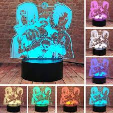 Cool Uzumaki Naruto Haruno Sakura Nara Shikamaru Kakashi Hatake Uchiha  Sasuke Uchiha Itachi Ninja Anime Naruto Shippuden Japan Manga Comics Light  Table Lamp - 16 Color Options - - Amazon.com