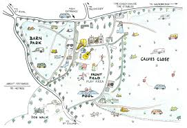 trewan hall site map
