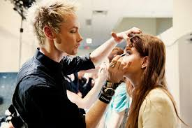 stylists from salon daniel and makeup artists from m a c cosmetics styled the models