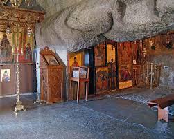 Монастырь Иоанна Богослова на о. Патмосе. Пещера Апокалипсиса (Греция).  Самопознание.ру