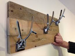 Used Coat Racks Up Cycled Barbering Clippers used to make coat hangers coat rack 12