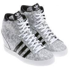 adidas shoes for girls 2014. adidas sky hi basket profi up womens wedge grey white shoes for girls 2014 g