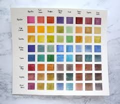 How To Make Color Mixing Chart Watercolor Week You Need A Color Mixing Chart Altenew