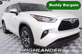 2020 toyota highlander hybrid xle fwd