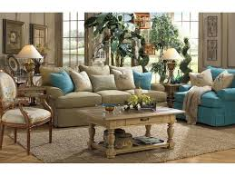 Paula Deen Living Room Furniture Paula Deen By Craftmaster Living Room Three Cushion Sofa P997050bd