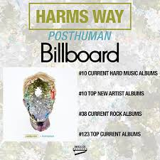 Harms Way Lands On Billboard Charts With New Album