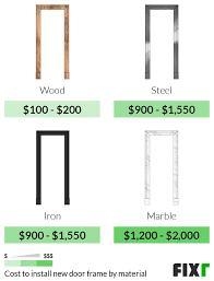 interior door installation cost