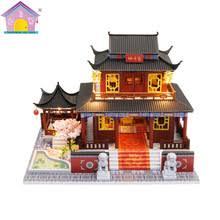 Diy <b>Кукольный</b> дом <b>мебель</b> в китайском стиле собирать ...