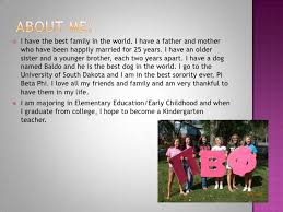 all about me powerpoint about me <br