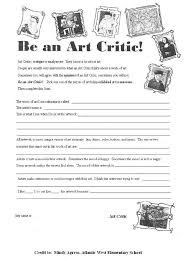 High School Art Worksheets Free Worksheets Library | Download and ...