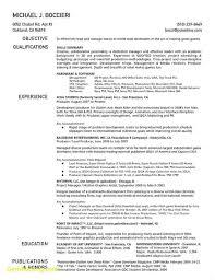 Resume Examples Visual Effects Artist Bullionbasis Com