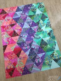 Tula Pink Eden Stereo Quilt + a Fat Quarter Giveaway | Jaybird Quilts & ... check out this Stereo Quilt I made using Tula Pink's newest fabric  line, Eden. I also used fabrics from Tula Pink's True Colors collection. Adamdwight.com