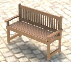 english style garden bench woodworking