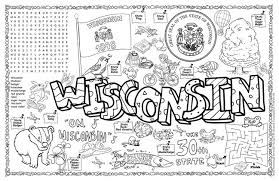Small Picture Gallery For Wisconsin State Tree Coloring Page Wisconsin