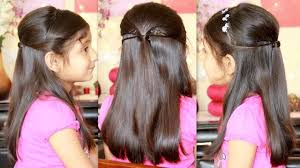 Hair Style Girl party hairstyle with missanand youtube 6800 by wearticles.com
