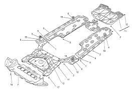 Maserati ghibli v6 3 0 4wd 2014 underbody and underfloor guards page 098 11121713112222345665789910161718181818