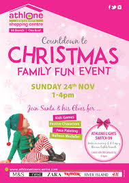 Athlone Christmas Lights Countdown To Christmas Family Fun Event At Athlone