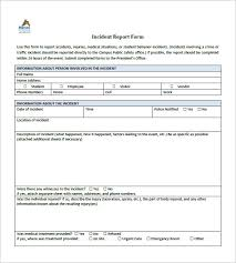 38 Incident Report Templates Pdf Doc Apple Pages Free