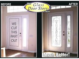 glass replacement for front door entry door sidelight replacement gallery doors design modern replacing glass above