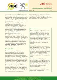 Vibe Fiches Keuzefiche Afwerkingsmaterialen Muurbekleding