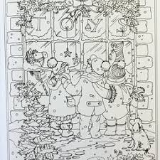 Small Picture Creative Haven Winter Wonderland Coloring Book Adult Coloring