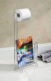 Chrome Toilet Paper Holder Magazine Rack InterDesign Classico Free Standing Toilet Paper Holder and 63
