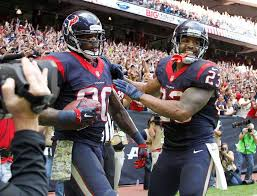 photos andre johnson through the years houston texans andre johnson and arian foster won
