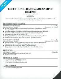 Sample Resume For Electronics Technician Electronic Technician Resume Sample Electronic Technician Resume